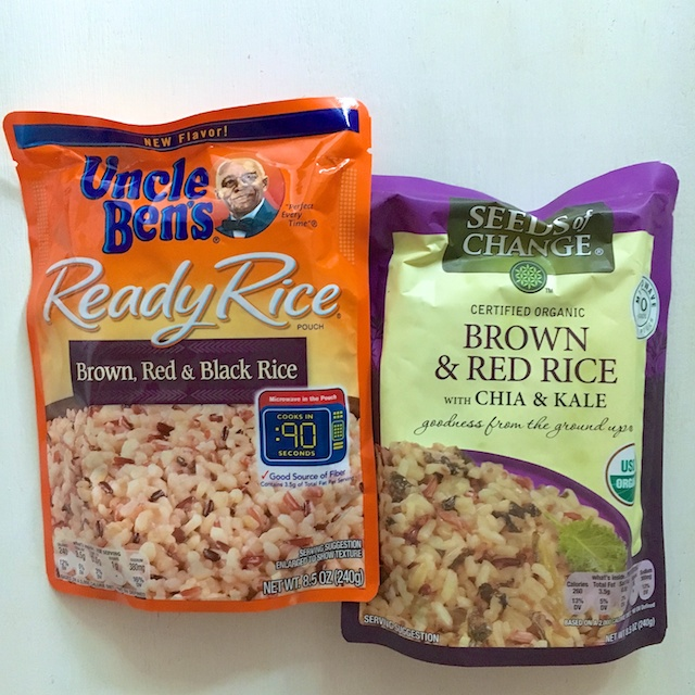 Uncle Bens and Seeds of Change products