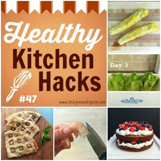 Healthy Kitchen Hacks #47: What to Do with Corn Cobs, Regrow Lettuce from Stems, Naked Cake, Easy Way to Peel and Devein Shrimp, Waffle Quesadillas