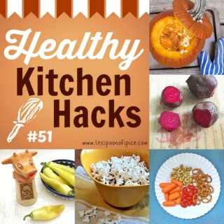 Healthy Kitchen Hacks: How to Cook a Whole Pumpkin, How to Remove Beet Stains, Perfect Stovetop Popcorn, Healthy and Simple Kid Snack Idea, How to Cool a Hot Pepper Burn
