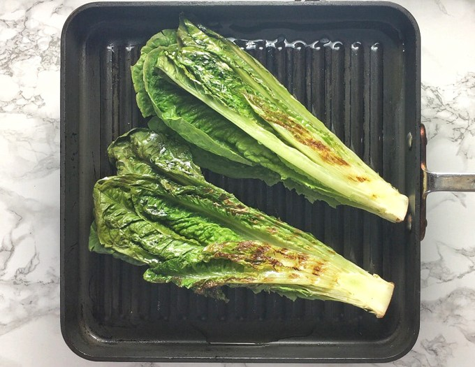 Upgrade your next salad and grillyour lettuce! Learn how at Teaspoonofspice.com
