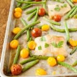 Butter Soy Sauce Sheet Pan Fish Dinner | @TspCurry