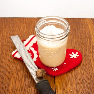 Easiest Eggnog Latte | @tspcurry