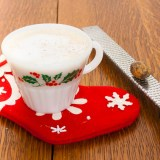 How to Make Homemade Eggnog Lattes | @TspCurry