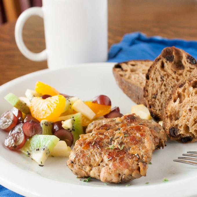Mushroom Breakfast Sausage | @TspCurry