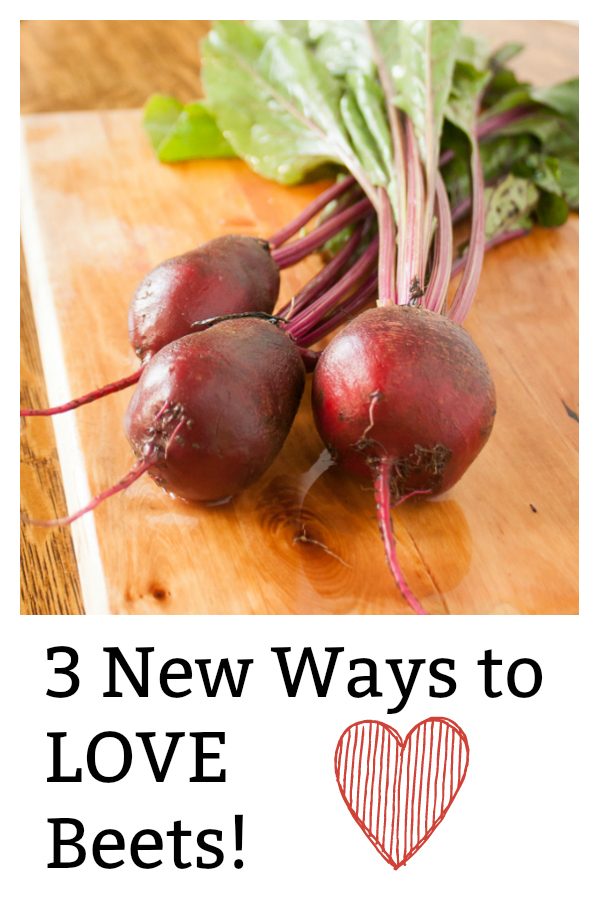 3 NEW WAYS TO LOVE BEETS:  One salad, one super-moist bread, one quick pasta hack. #Healthy Kitchen Hacks - via @https://www.pinterest.com/tspcurry/