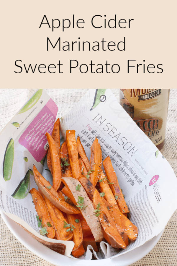 Do Sweet Potatoes Cause Gas : sweet, potatoes, cause, Apple, Cider, Marinated, Sweet, Potato, Fries