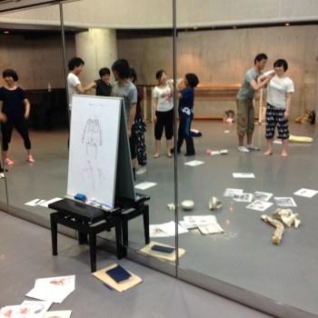 神楽坂ダンス学校1・てあて整体スクール