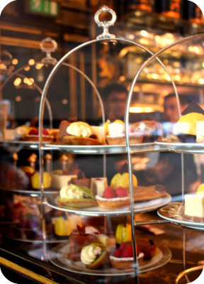 Have a posh cup of tea  The Wolseley  Offrezvous un the chic au Wolseley  Tea Time in Wonderland