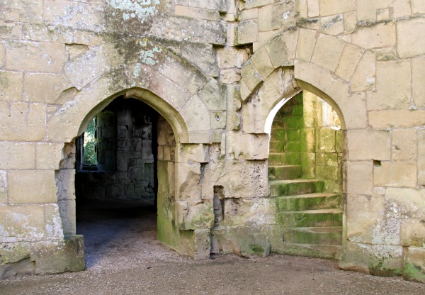 Wiltshire Old Wardour Castle