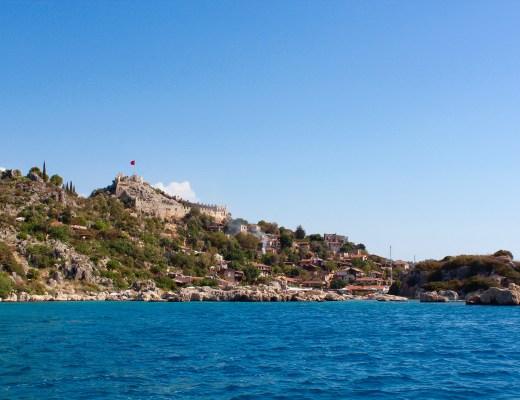 Kekova Tyrkiet, unikke steder i Tyrkiet, den sunkne by, bådture i Tyrkiet, Tyrkiet bådture
