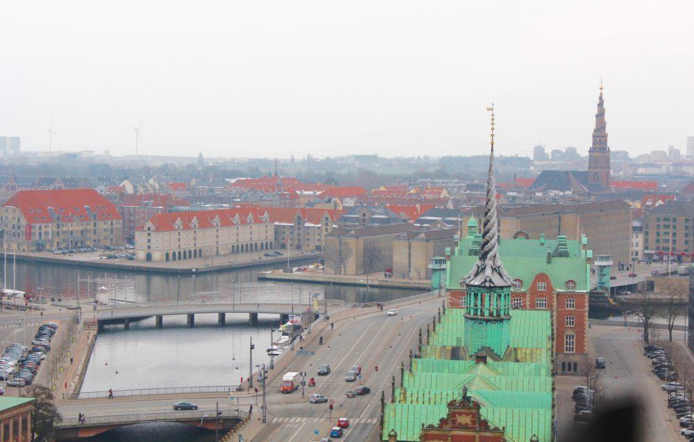 Tårnet på Christiansborg: Se København oppefra
