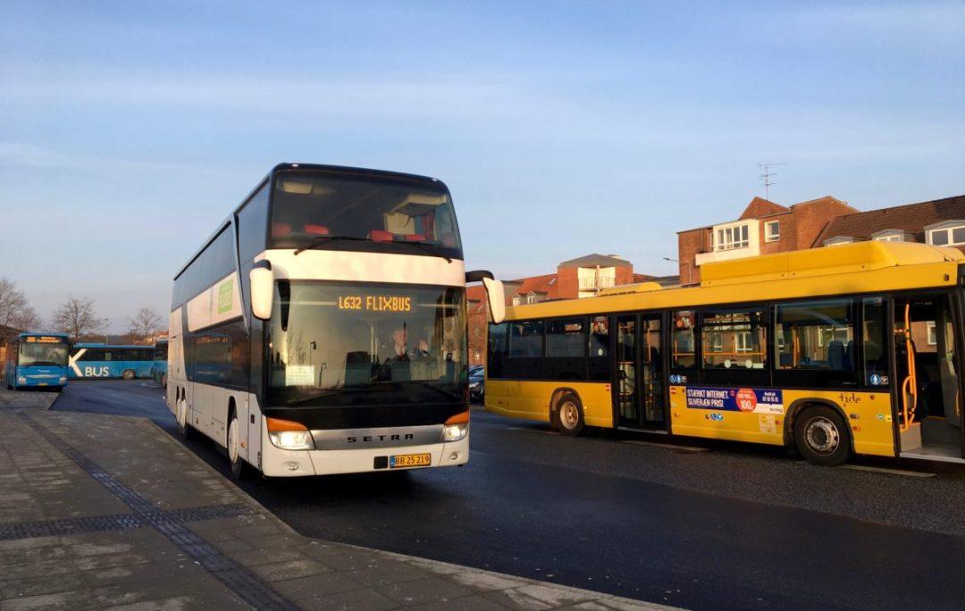 Flixbussen Super Billigt Fra Silkeborg Til København Teatougaarddk