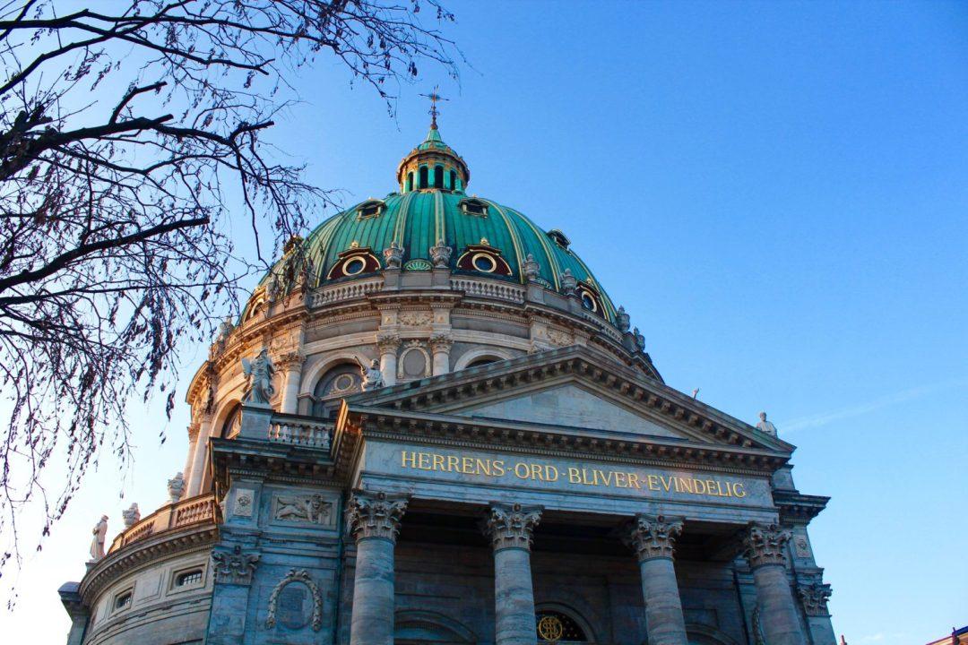 marmor kirken, frederiks kirken, kirker i københavn, seværdigheder i københavn, rejseblog, rejseblogger, københavn blog
