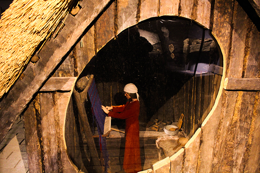vikinge hus, museum om vikinger, viking museum århus, viking museum aarhus