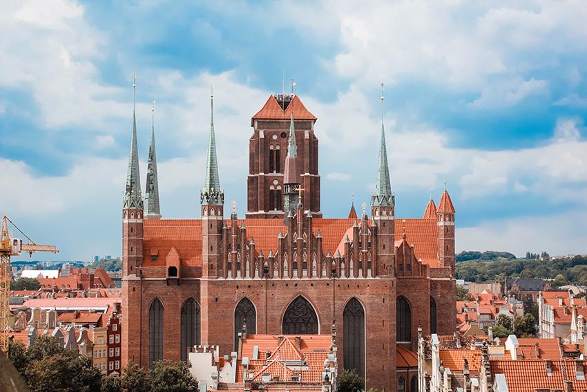 st marys kirke gdansk, Seværdigheder i Gdansk, Gdansk polen, guide til Gdansk, gdansk dansk guide, seværdigheder i Polen, Polen seværdigheer, Oplevelser i Gdansk, rejser til Gdansk, Fly til Gdansk