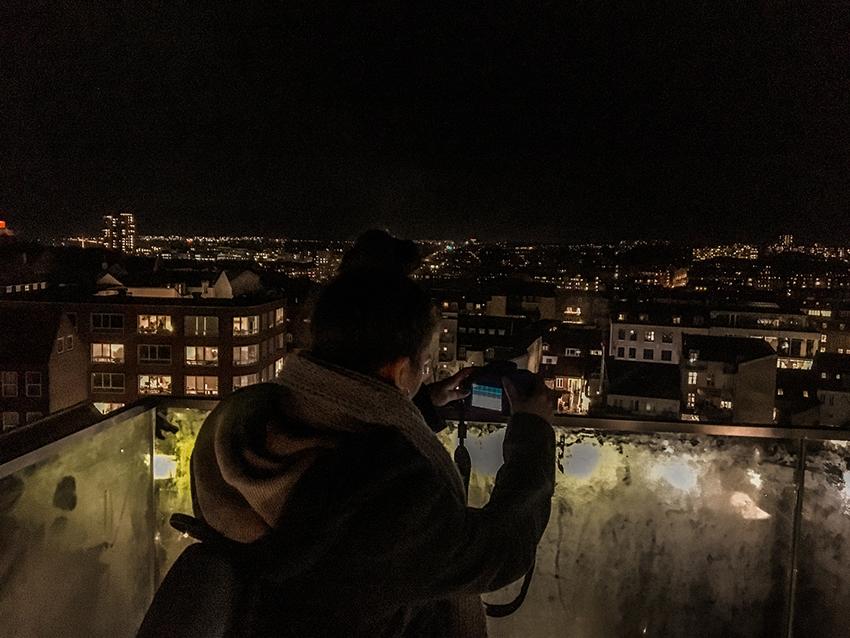 Salling rooftop, Roof tops Århus, Århus Rooftop, Udsigtspunkter i Århus, Århus udsigtpunkter, Panorama udsigt over Århus