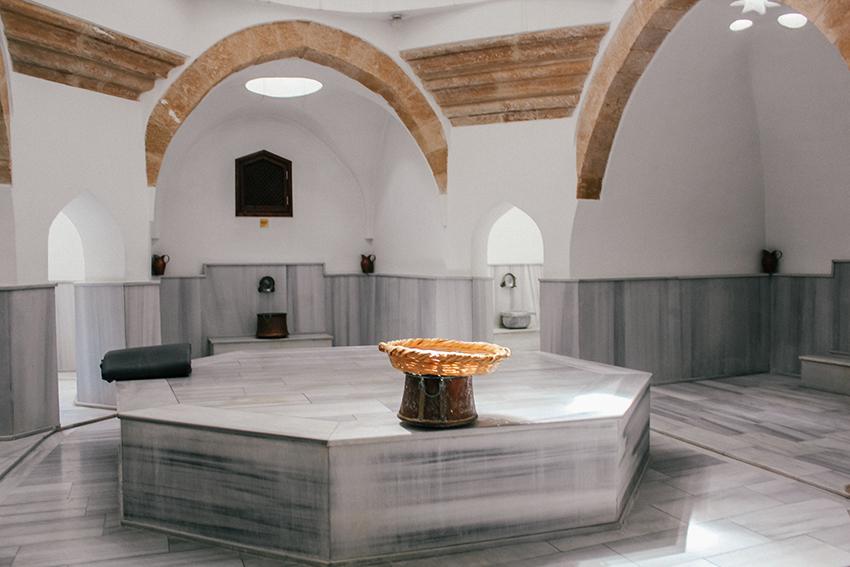 great hamam nicosia, hamam nicosia, tyrkisk bad på cypern, turhish bath Lefkosa, buyuk hamam Nicosia, Nicosia great hamam