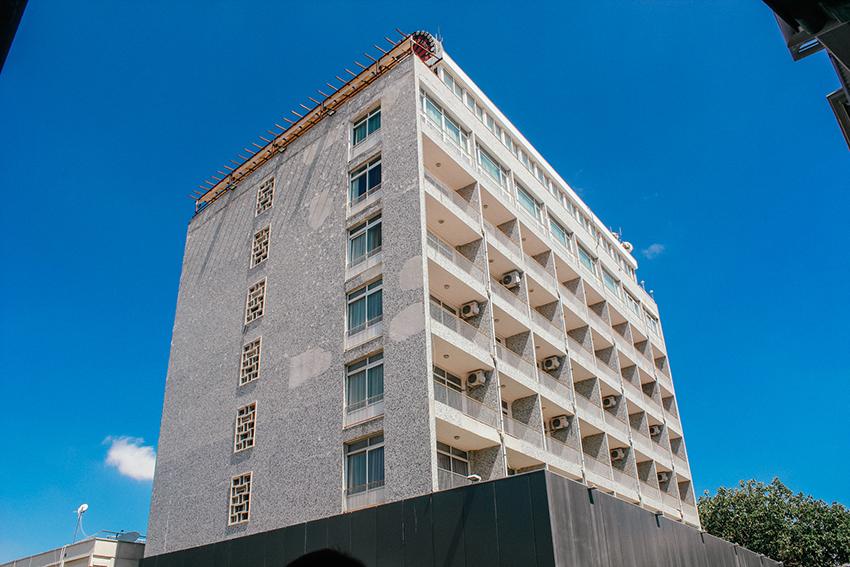 Saray hotel Nordcypern, Nordcypern hotel, Hotel med skudhuller, skudhuller i hotel, Seværdigheder i Nicosia,