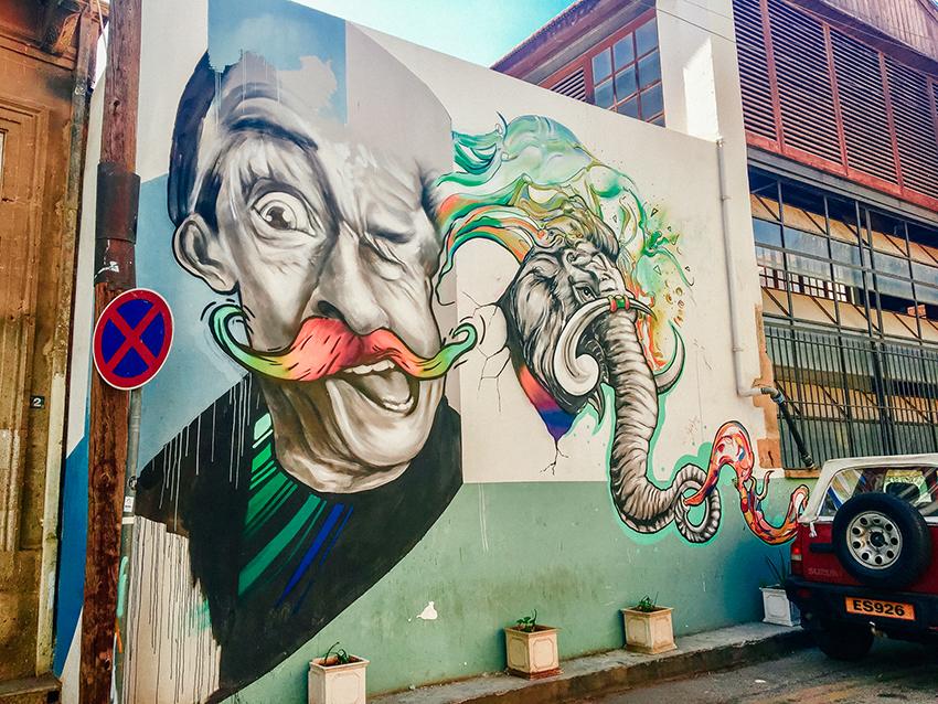 streetart cypern, streetart gade cypern, grafitti gade cypern, gratis seværdigheder på Cypern, Seværdigheder på Nordcypern, Streetart på Nordcypern, Oplevelser i Lefkosa
