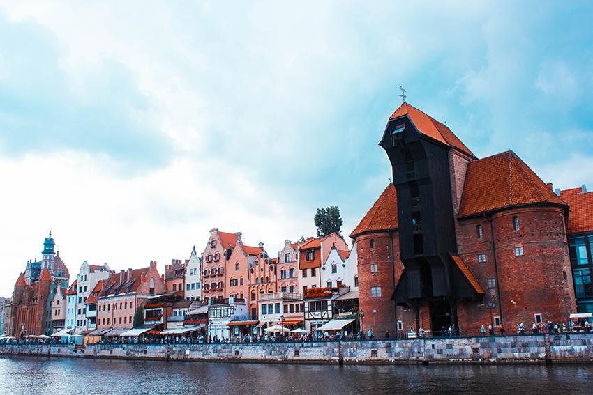 gdansk kranen, oplevelser i Gdansk, Gdansk kran, Gdansk havn, havnen i Gdansk, byer i Polen, de bedste byer i Polen