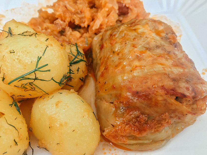 polske kålruller, kålruller, kålruller Polen, Gołąbki