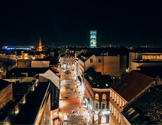 udsigtspunkter i århus, panorama udsigt i århus, guide til århus, seværdigheder i Århus, Århus seværdigheder, udsigt over århus, salling rooftop, Aros kunstmuseum,