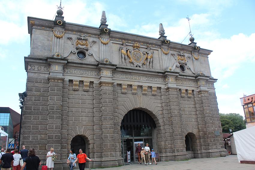 uphagen gate, uphagen porten, Gdansk turistkontor