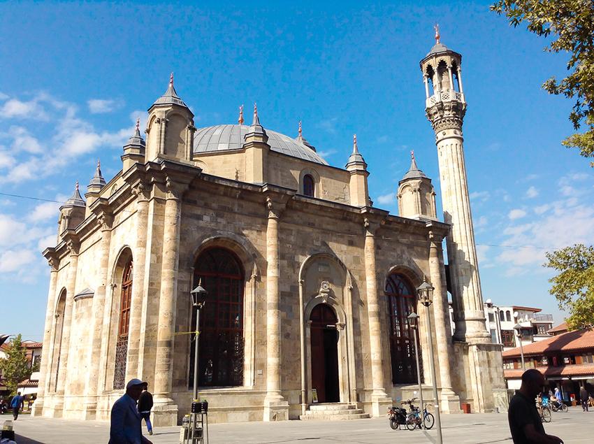 Azizia Mosque, moskeer, moskeer i Tyrkiet, seværdigheder i Konya, Konya seværdigheder, oplevelser i Tyrkiet, Tyrkiet oplevelser