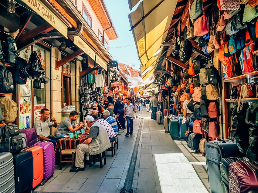 shopping i Konya, Shopping i Tyrkiet, Tyrkiet, Konya, oplevelser i Konya