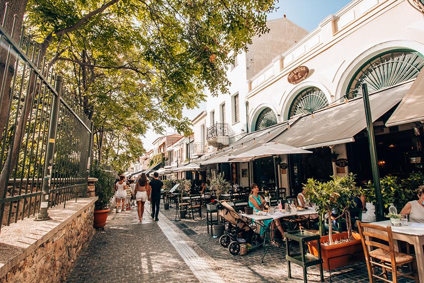 restauranter i Athen, hvor skal man spise i Athen, græsk mad,Historiske steder i Athen, Athen historiske steder, seværdigheder i athen, hvad kan man lave i athen, rejseguide til Athen, oplevelser i Athen,