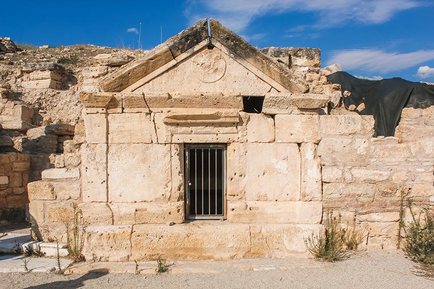 Fillips grav, Disciplens grav, Disciplens Filips grav, arkæologiske fund i Tyrkiet, kristendommen i Tyrkiet