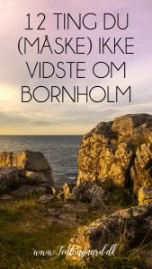 Gudhjem Bornholm, oplevelser i Gudhjem, hvad skal man se i Gudhjem, sjove fakta om Bornholm, Bornholm solnedgang, solnedgang på Bornholm