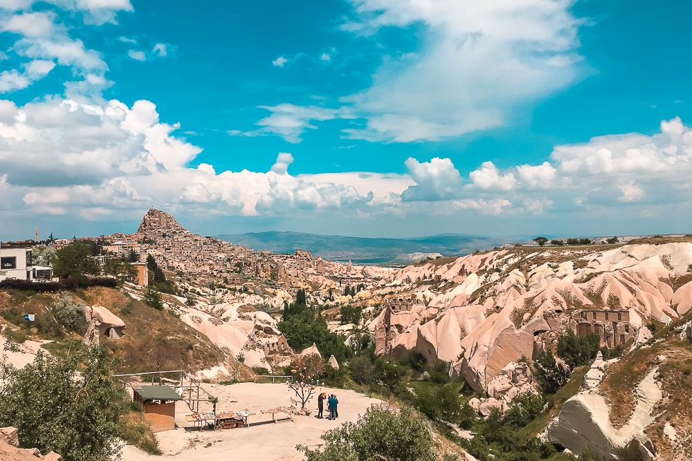 Duedalen, dalene i Kappadokien, Pigeon valley Cappadocia,