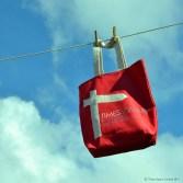Times Square Printed Tote Bag