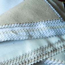 tea towel fabric swatches