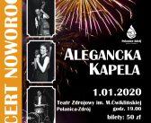 Koncert Noworoczny  z udziałem zespołu Alegancka Kapela