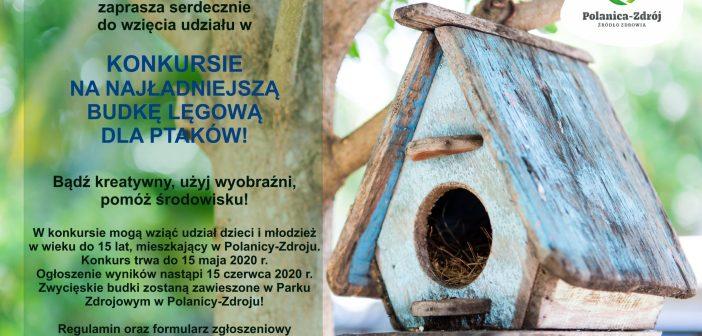 Światowy Dzień Ziemi – konkurs na budkę lęgową dla ptaków!