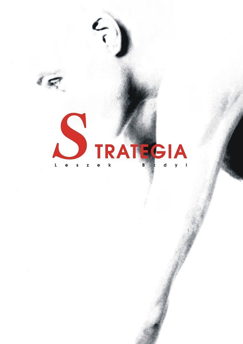 plakat do spektaklu Strategia