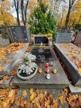Grave of prof. Witold Sylwanowicz