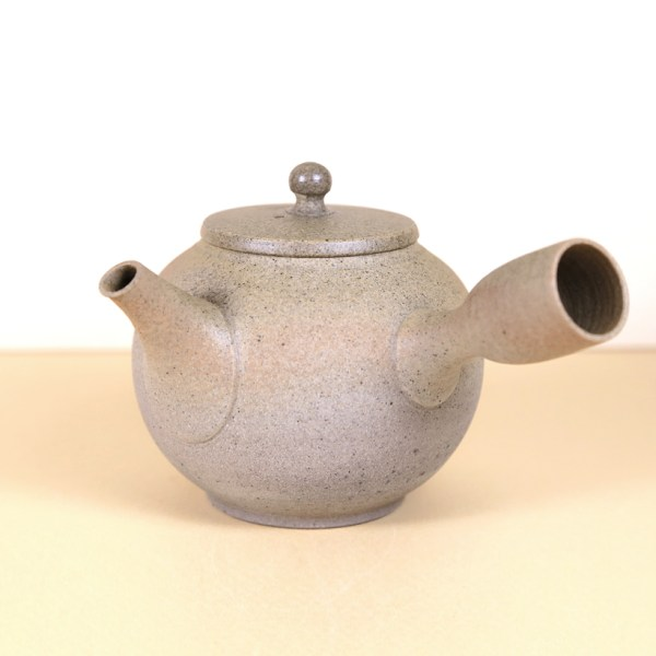 Tokoname Light Grey Rounded Teapot