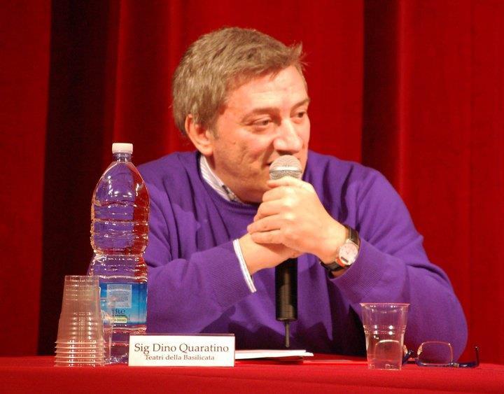Dino Quaratino_presidente Teatri Uniti di Basilicata_vicepresidente AGIS