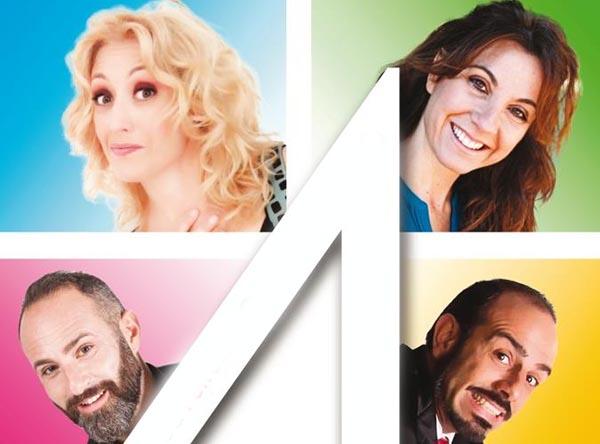 """Roma. Al Teatro 7 """"Quattro"""" di Adriano Bennicelli. Dal 31 ottobre al 19 novembre"""