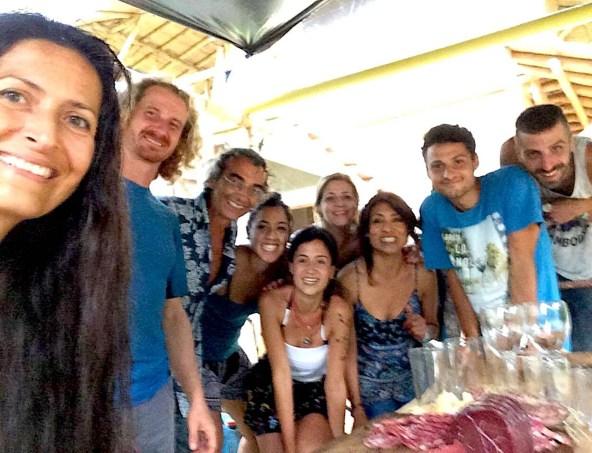 Amigos de Cenit Arte Natura en Minca Sierra Nevada de Santa Marta