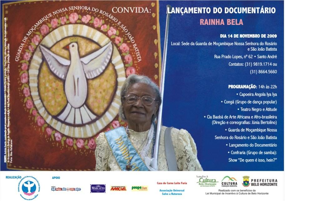 RAINHA BELA - documentário (1/2)