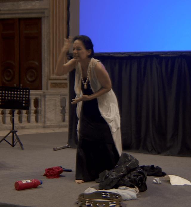 Marica Roberto, vincitrice Sezione autori performers 2017
