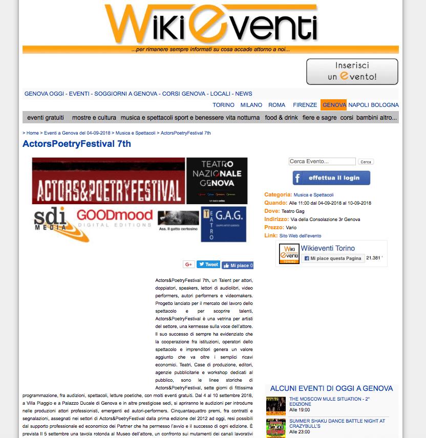 Wikieventi