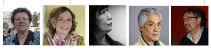 Nella foto Rosa Elisa Giangoia, Laura Garavaglia, Mariko Sumikura. Hal Yamanouchi, Andrea tavernati