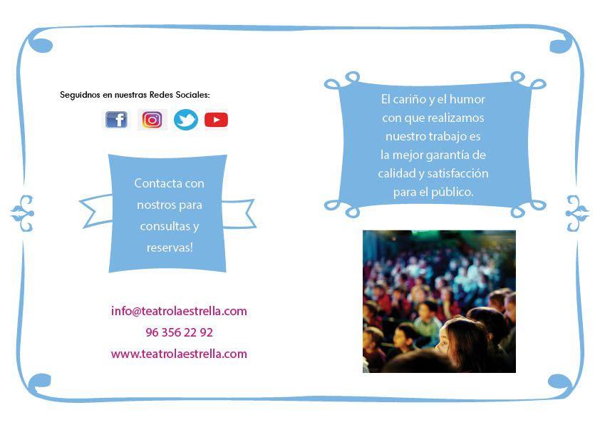 Campaña Escolar TEATRO LA ESTRELLA 2020-202110