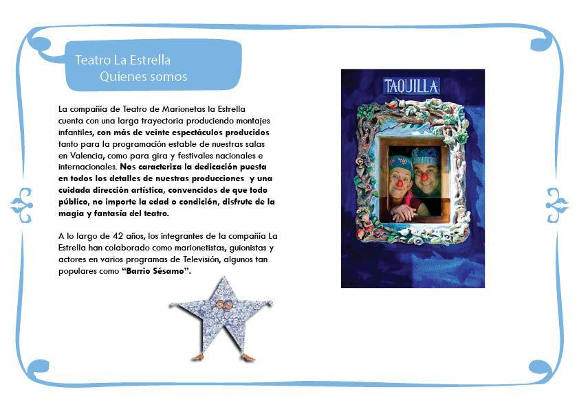 Campaña Escolar TEATRO LA ESTRELLA 2020-20212