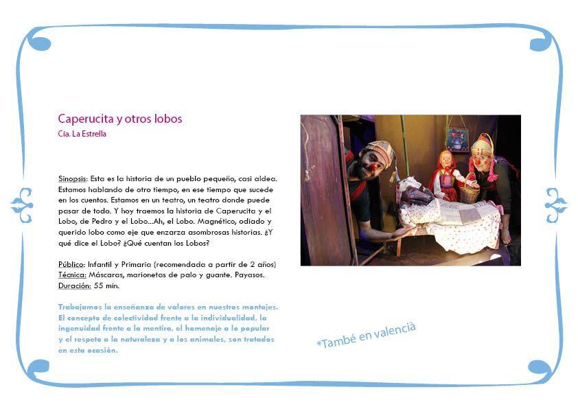 Campaña Escolar TEATRO LA ESTRELLA 2020-20217